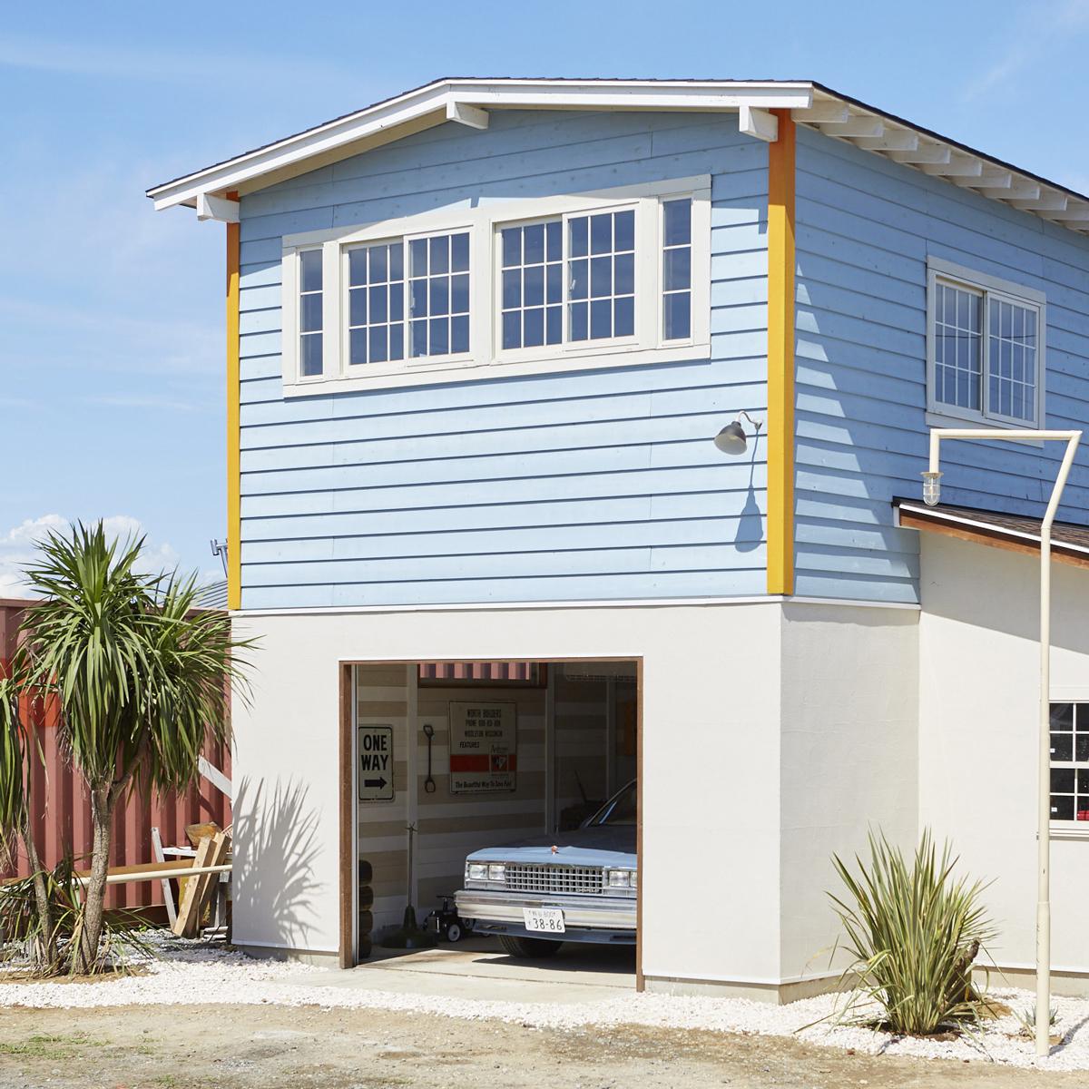 Nakajima's garage